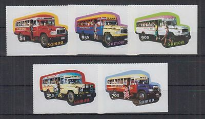 H550 Samoa - MNH - Transport - Busses - 967/71
