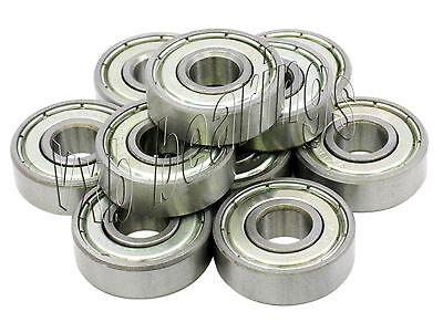 """10 Shielded Bearing 1602ZZ 1//4/""""x11//16/""""x1//4/"""" inch Miniature Ball Bearings 955"""
