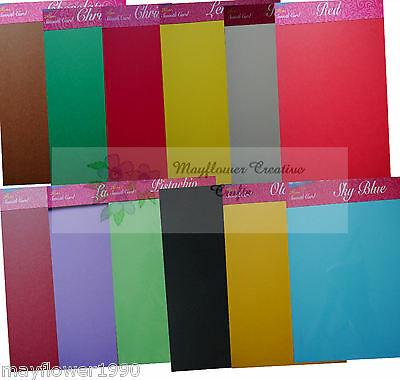 Assorted Bright Colours Pack of 25 House of Card /& Paper A3 220 gsm Card