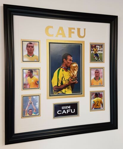 Rare CAFU Signed Photo Picture Autograph Display