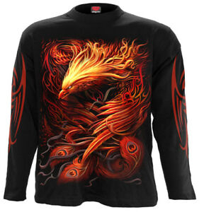 Spiral Direct Phoenix Arisen Long Sleeve T Shirttattoobirdyin