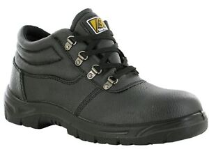 Groundwork Safety Boots Steel Toe Cap Safety Lightweight Hiking Boot Size 3-12