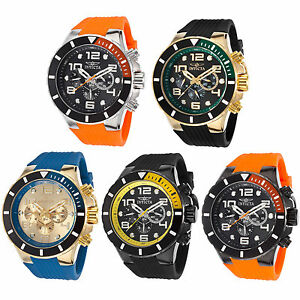 invicta men 039 s pro diver multi function polyurethane watch image is loading invicta men 039 s pro diver multi function