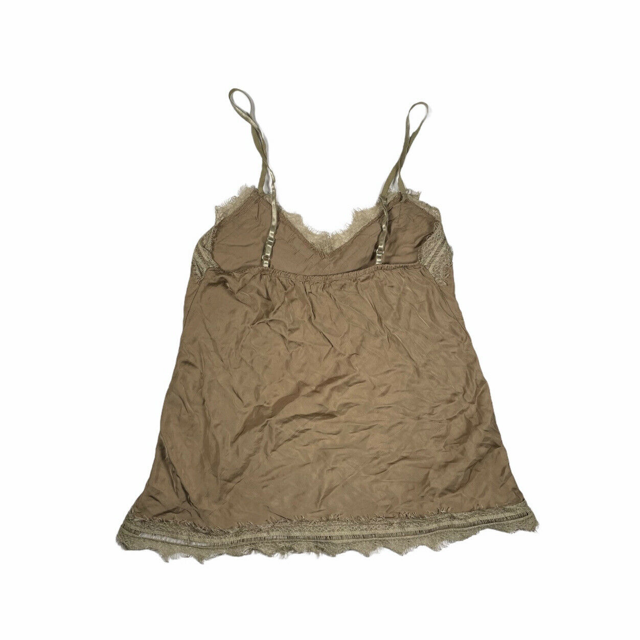 Vintage earthy lace cami fairycore - image 2