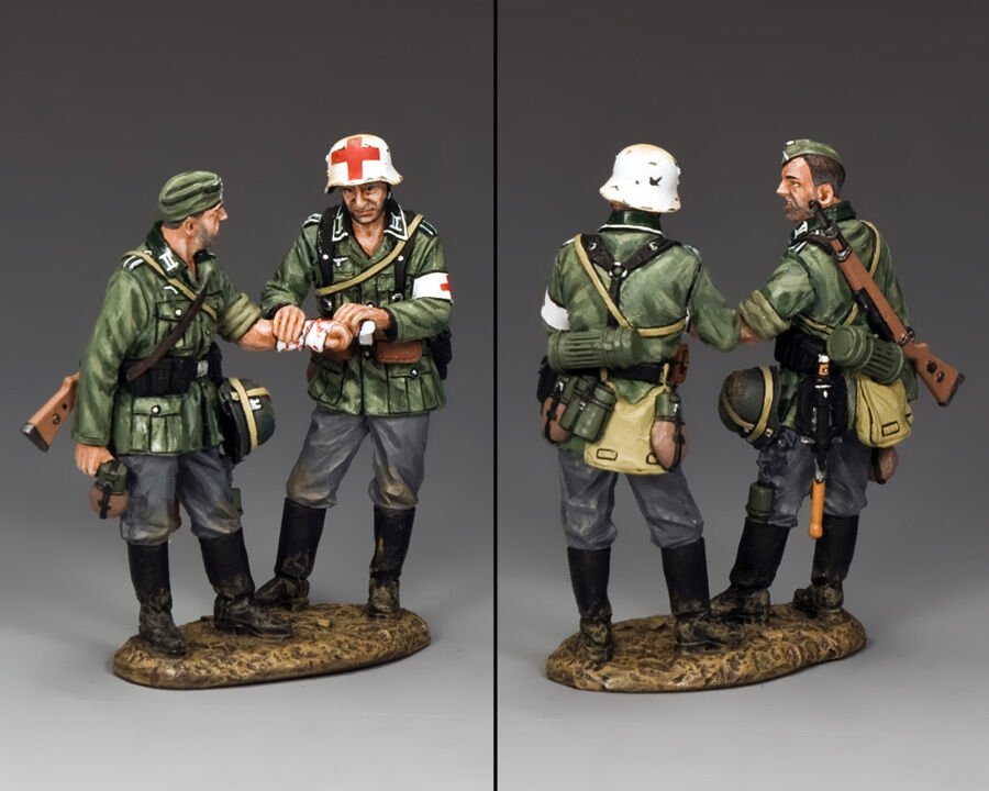 KING AND COUNTRY Walking Wounded WW2 German WSS222 WS222