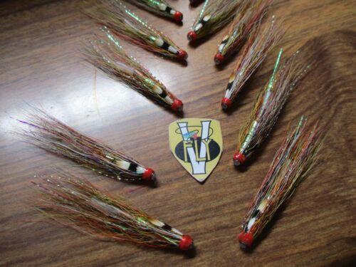 3 V Fly Signature Junction Gunn Copper Salmon Tube Flies /& Trebles 1//2 to 1 1//2