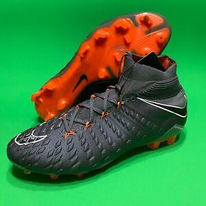 Nike-Hypervenom-Phantom-Elite-DF-FG-Grey-Soccer-Cleats-AH7270-081-Men-039-s-Size-8-5
