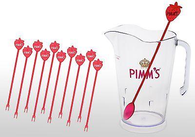 Pimm's O'clock Kit 1x 1.5l Jug, Jug Stirrer, And 10 Glass Stirrers