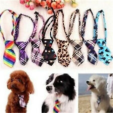 Pet Cat Baby Dog Puppy Kid Bow Tie Necktie Handsome Adjustable Cloth 1pc