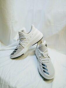 Adidas Shoes White hightop Basketball
