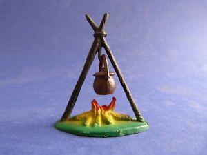 STARLUX-Decor-Feu-de-camp-1-Farwest-Plastic-toy-soldier