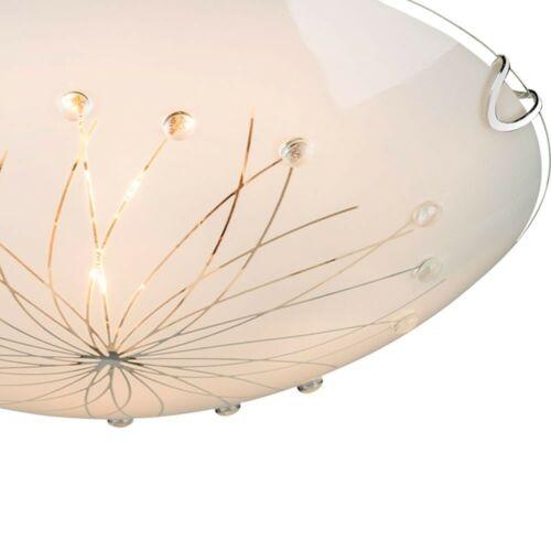 20W SMD LED Decken Lampe Deko Kristall Steine Wohn Raum Beleuchtung Big Light