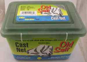 Betts-7PM-7Ft-Old-Salt-Cast-Net-7Lb-3-8-034-Mesh-Lead-Weights-12923
