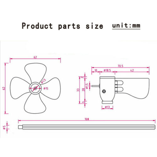 Vertikale LED Wind Generator Turbine Wind Power Modell DIY Montieren Motor