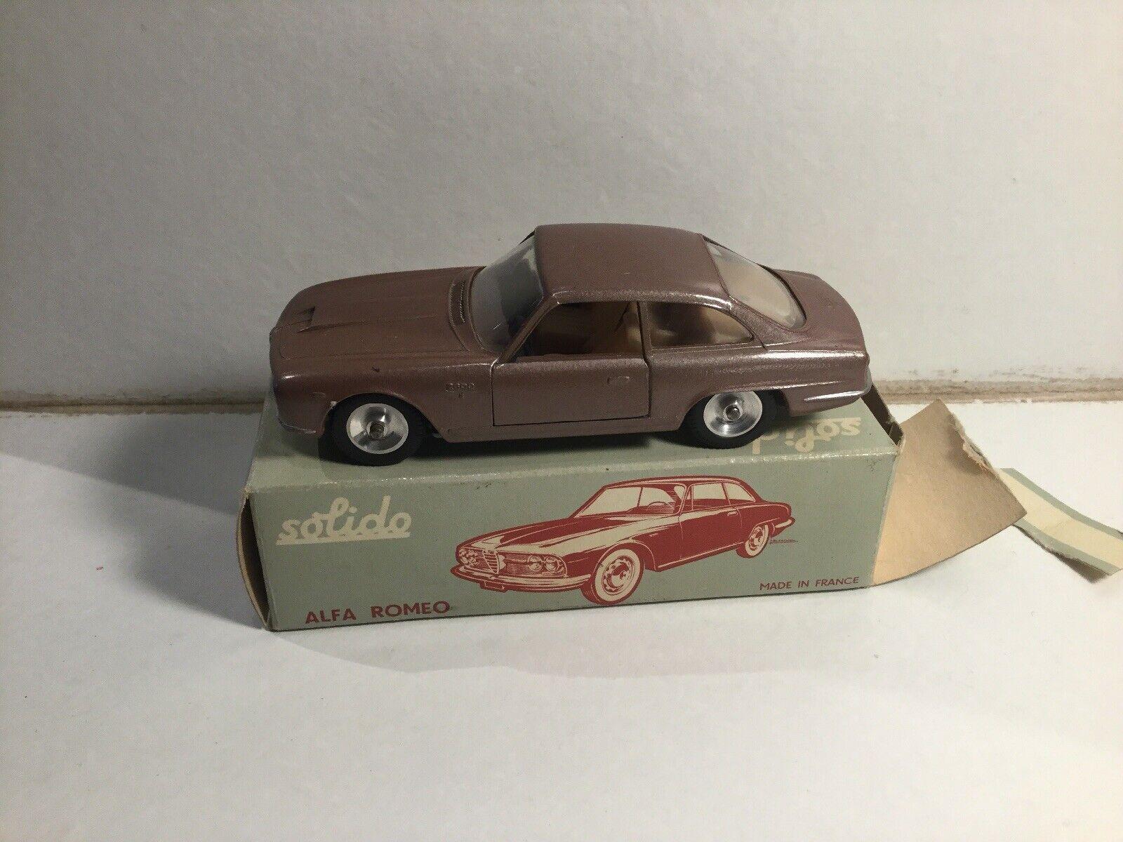 Solido Diecast No 125 Alfa Romeo 2600 Bertone 1 1 1 43 Within Its Original Box d5ba70