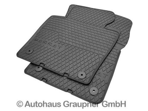 VW Gummifussmatten Satz Passat B6 B7 vorn hinten Gummimatten Volkswagen