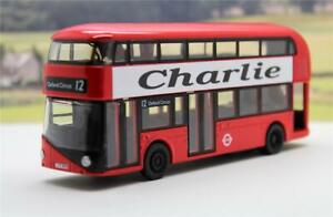 PERSONALISED NAME Gift Diecast Red London Double Decker Bus Toy Car Box Present