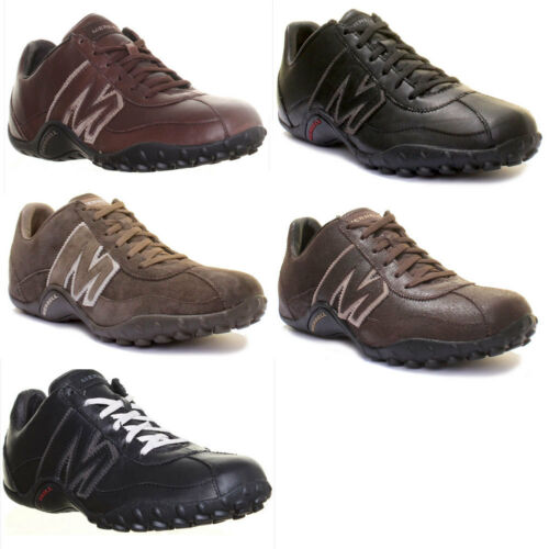 10526 Merrell Sprint Blast Mens Leather Hiking Shoes Lace Up Trainers