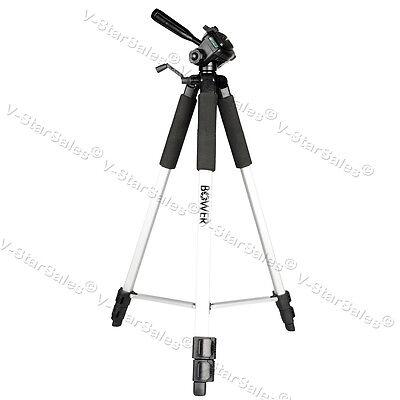 "Bower VTSL1200 59"" Full Size Tripod for Canon Nikon Sony Pentax DSLR Cameras"