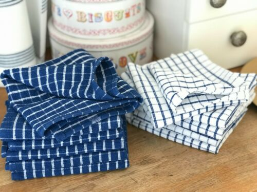 PACK OF 6 * KITCHEN TEA TOWEL TERRY COTTON DISH CLOTH FOR CATERING RESTAURANT