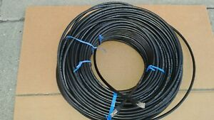 400ft CAT-6 SHIELDED Outdoor Indoor Ethernet Cable UV Direct bury RJ45 Cable