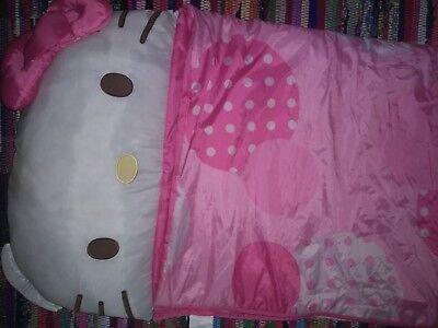 Super Cute Pink O Kitty Sleeping