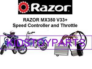 v33 and up NEW Razor MX400 DIRT BIKE V33+ ESC ELECTRONIC SPEED CONTROLLER