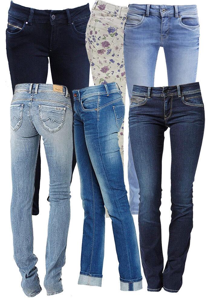 Pepe Jeans Damenjeans NEW BROOKE Damen Frauen Denim Stretch Skinny