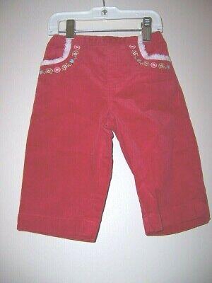 CUTE Girls GYMBOREE COLORFUL VILLAGE Pants 6-12 Mos NWT