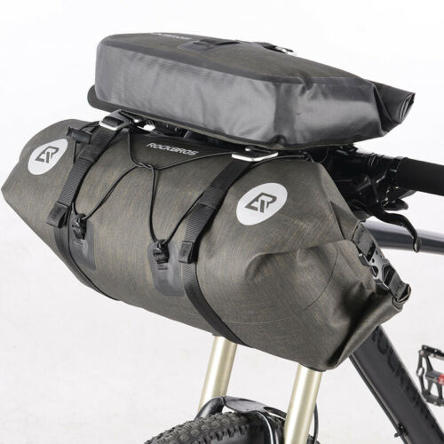 RockBros 2 IN 1 Waterproof Bicycle Roll Bag /& Handlebar Bag Extra Large Capacity