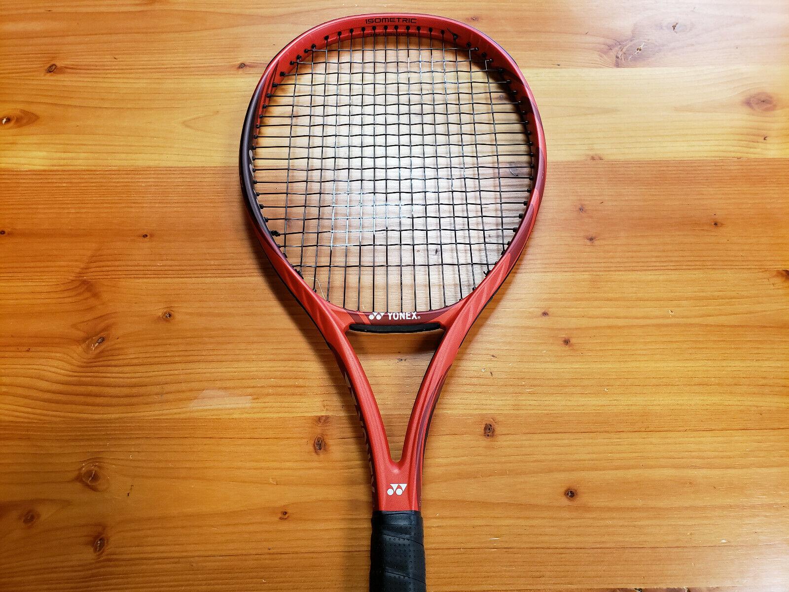 1f7654ce7 Yonex V-Core 100+ Preowned Tennis Racquet Grip SIze 4 1 4 4 4 32ed70 ...