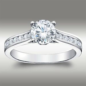 1-49-CT-Brilliant-Round-Cut-Engagement-Ring-Lab-Diamond-Solid-14k-White-Gold
