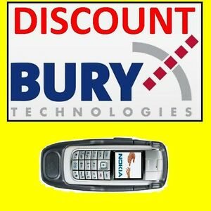 Bury-Cradle-Nokia-6021-6020-THB-System-8-Take-amp-Talk-Car-Kit-Holder-USED