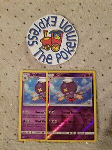 Pokemon-TCG-2x-Drifblim-52-156-1-Rev-Holo-Mint-English-Psychic-Uncommon
