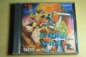 RASTAN-SAGA-II-NEC-PC-Engine-Hucard-import-JAP-neuf-new-neu