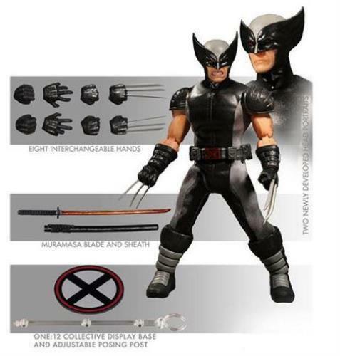 In magazzino Mezco ONE 12 Marvel XForce Wolverine PX azione cifra