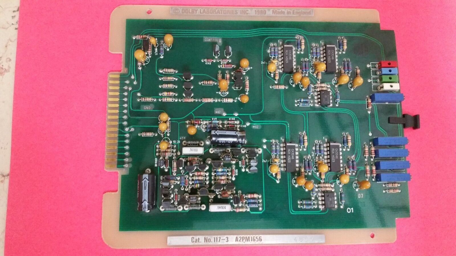 Remoto Fader Tarjeta módulo Gato no.117-3. Dolby Dolby Dolby Laboratories Inc sistemas a2pm1656 620671