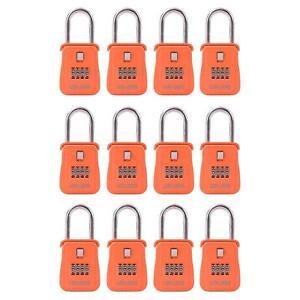 Lion Locks 1500 Key Storage Realtor Lock Box With Combination 12 Pack Orange 641171084651 Ebay