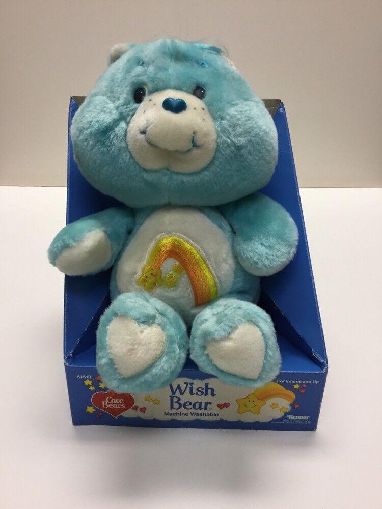 13   Wish Bear  Care Bears By Kenner In Cardboard Holder