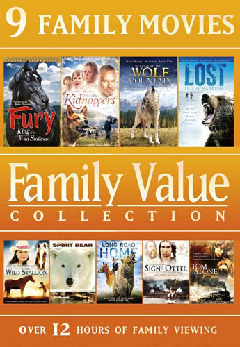 Family Value Collection: 9 Family Movies (DVD, 2014, 2-Disc Set)