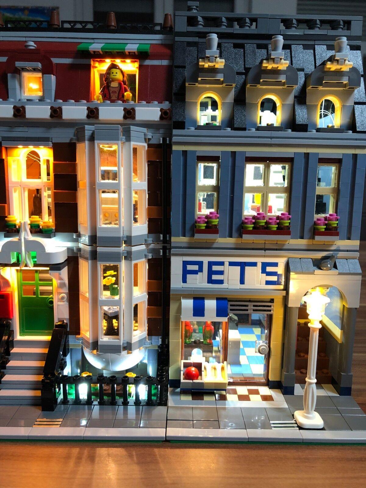 Lumière Light Eclairage Sets pour Lego Pet Shop Pet Shop 10218