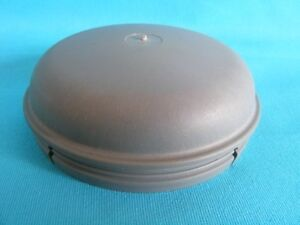 76mm Grey NO LOSS Grease Dust Hub Cap for IFOR WILLIAMS Trailer Wheel