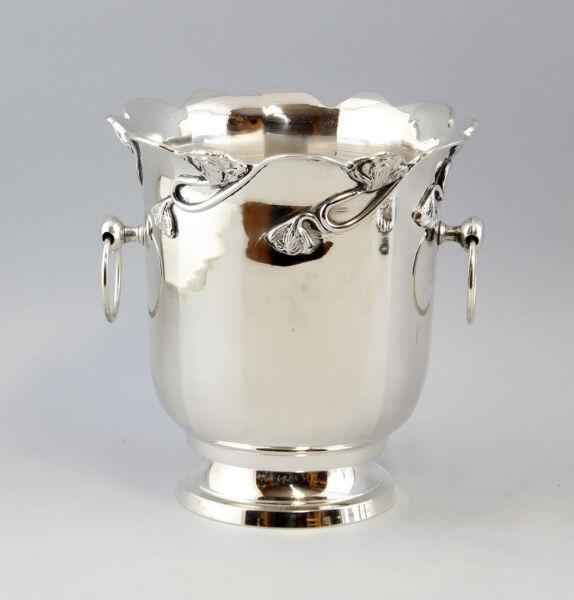 9977009 Silber-farben Niqueladas Sekt-kühler En Estilo Moderno H23cm