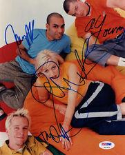 NO DOUBT GWEN STEFANI & DUMONT & KANAL & YOUNG GROUP SIGNED 8x10 PHOTO PSA/DNA