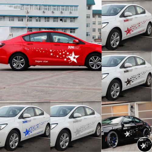 New Racing Car Stickers Auto Sport Styling Vinyl Car Body Sticker Decal PVC