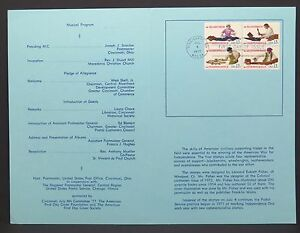 Skilled-Hand-Program-First-Day-of-Issue-FDC-USA-First-Day-Cover-Block-I-3188