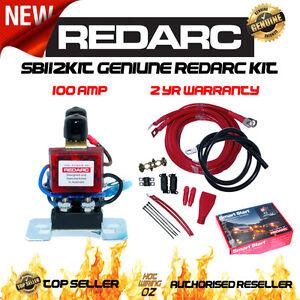 redarc sbi12kit dual battery isolator genuine wiring kit. Black Bedroom Furniture Sets. Home Design Ideas