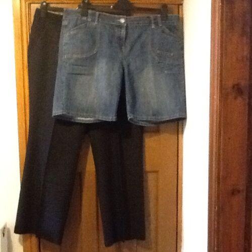 donna e shorts Pantaloni Pantaloni 18 Tu da F taglia SYSnx5w
