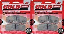 Honda CBR 900 FX Fireblade 1999 > Sinterizado Delantero Pastillas De Freno (2 Par) * GOLDFREN *