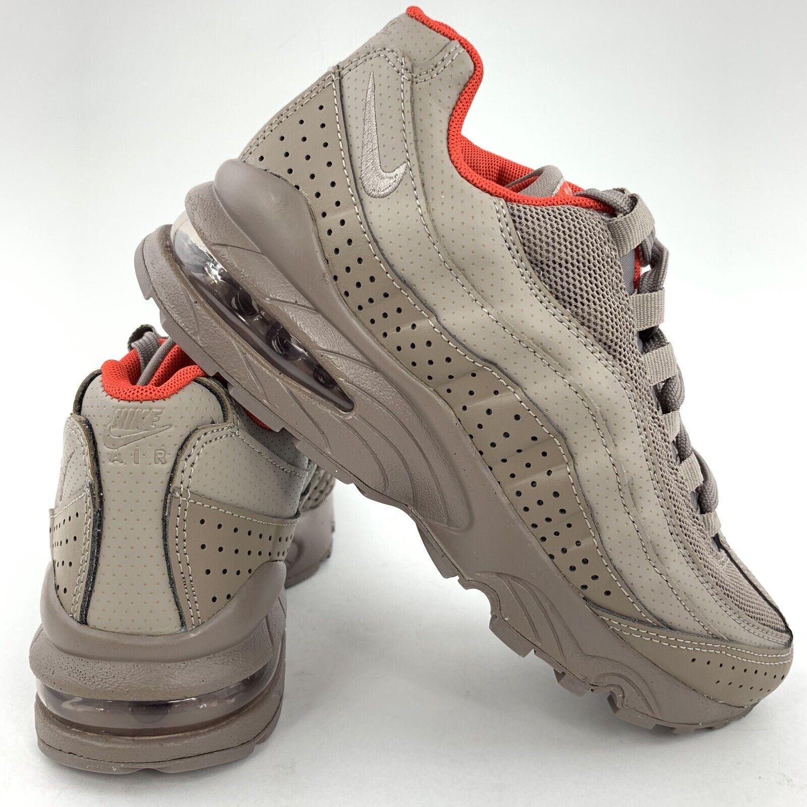 Boys Nike Air Max Shoes 95 GS Size 7 Sepia Stone Orange 922173 200